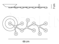Потолочный светильник Led Net line Artemide