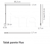 Настенный светильник Talak Artemide