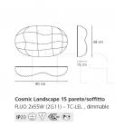 Потолочный светильник Cosmic Landscape Artemide