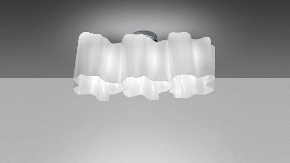 Потолочный светильник  Logico soffitto 3 in linea Artemide