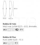 Настенный светильник Robbia Artemide