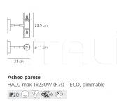 Настенный светильник Acheo Artemide