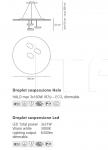 Подвесной светильник Droplet Artemide