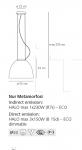 Подвесной светильник Nur Metamorfosi Artemide
