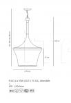 Подвесной светильник Calenda Artemide