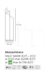 Настольный светильник Mezzachimera Artemide