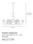 Люстра Pantalica Artemide