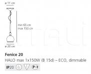 Подвесной светильник Fenice Artemide