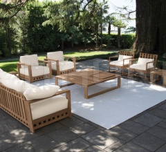 Итальянские кресла - Кресло SQUARE фабрика Meridiani