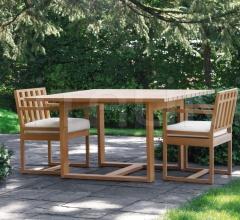Итальянские столы - Стол SQUARE фабрика Meridiani