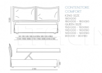 Кровать ARIANNE Bontempi Casa