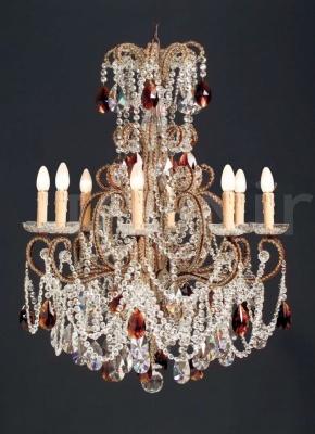 Люстра B4-55/8Amber Badari Lighting