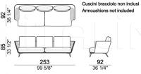 Модульный диван Morrison Arketipo