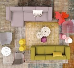 Модульный диван Spring фабрика Moroso