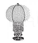 Настольный светильник BALLOON 7026/L1 MM Lampadari