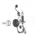 Настенный светильник ADELE 4962/A1 MM Lampadari