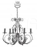 Люстра ADELE 4962/6 MM Lampadari