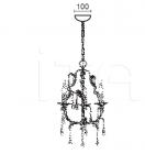 Подвесной светильник VILLA 4819/3 MM Lampadari