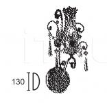 Настенный светильник ANFORA 6468/A1 MM Lampadari