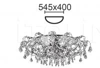 Потолочный светильник OVALI 6696/P6 MM Lampadari