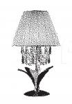 Настольный светильник PALM 7037/l1 MM Lampadari