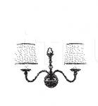 Настенный светильник NIK 7032/A2 MM Lampadari