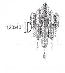 Настенный светильник ROMBO 6675/A4 MM Lampadari