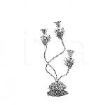 Настольный светильник ROSETO 6213/L3 MM Lampadari