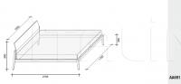 Кровать Theo Lema