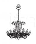 Подвесной светильник CARONTE 6518/6+3 MM Lampadari