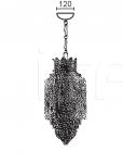 Подвесной светильник ROCOCO 6858/1 MM Lampadari