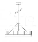 Подвесной светильник CHANDELIER FontanaArte