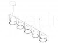 Подвесной светильник IGLOO FontanaArte