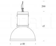 Подвесной светильник LAMPARA FontanaArte