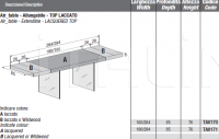 Раздвижной стол AIR Lago