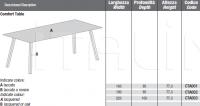 Стол обеденный COMFORT Lago