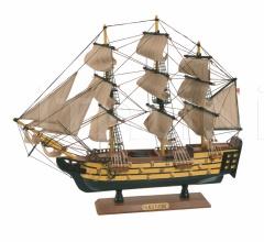 Интерьерная миниатюра HMS Victory 7501 фабрика Caroti