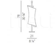 Настольный светильник Twister Panzeri