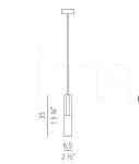 Подвесной светильник Jazz Panzeri