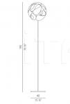 Напольный светильник Floral Panzeri