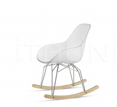 Diamond Dimple Tailored Rocking Chair