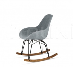 Diamond Dimple Pop Rocking Chair