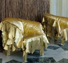 Кресло Leather Works фабрика Edra