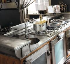 Итальянские кухни с островом - Кухня Bar & Barman фабрика Marchi Group