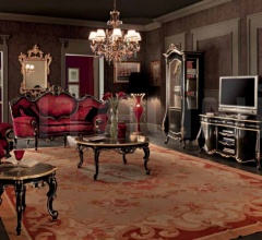 Двухместный диван 11411 фабрика Modenese Gastone