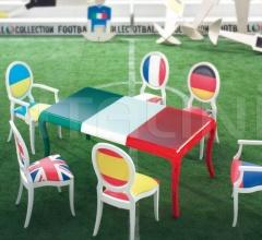 Стол обеденный Flag фабрика Modenese Gastone