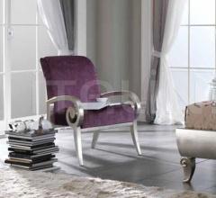Кресло 678 foglia argento фабрика Stilema