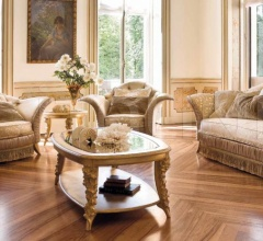 Трехместный диван RA1513IX фабрика BelCor Interiors