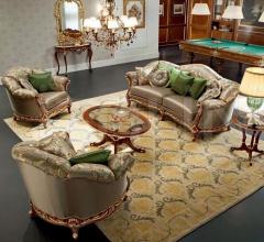 Трехместный диван 13418 фабрика Modenese Gastone