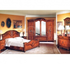 Classic furniture Guest bedroom  - DUCALE DUCSP / Wardrobe with 4 doors
